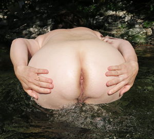 Mitoo: big tits and ass in river -..