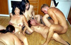 Mature swingers, In Company Of Family