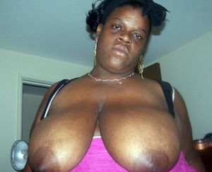 Chubby black mature housewife exposing..