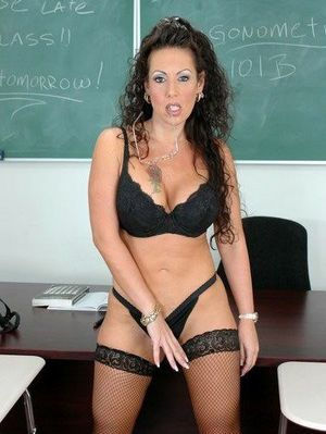 Horny mature teacher Anjelica Lauren..