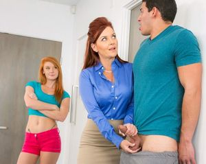 Curvy MILF Janet Mason teaches amateur..