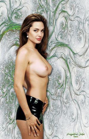 Top 50 Porn Images of Angelina Jolie..