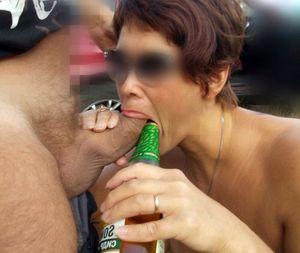 Pretty mature sluts slurp big cocks..
