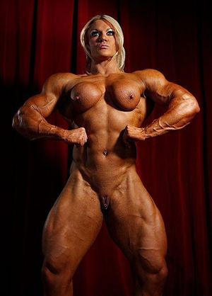 sexy muscle girl
