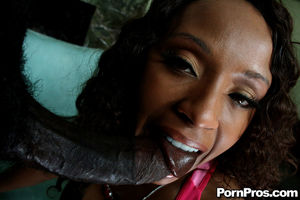 Ebony MILF babe with a huge butt Ayana..