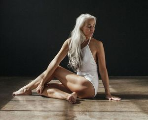 61-Year-Old Model Absolutely Rocks Her..