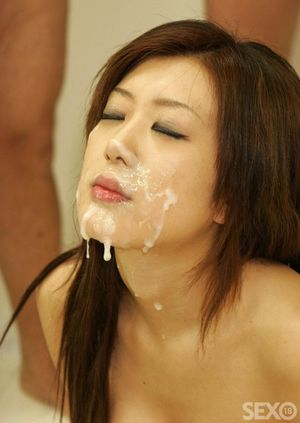 bukakke for pretty asian girl - BEST..