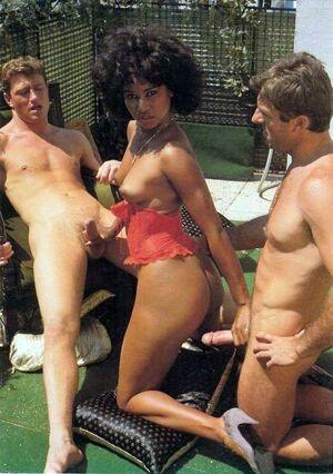 Exclusive vintage ebony porn, two..