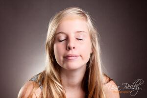 Beautiful Teen Girl Portrait- Funny..