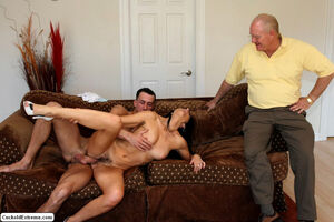 Horny wife Russell gets herself some..