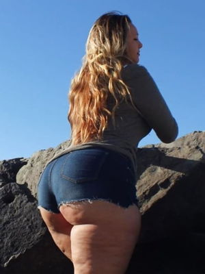 Autumn Big Ass PAWG upskirtporn