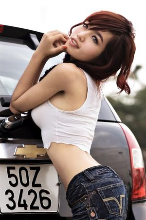 Elly Tran Ha, Vietnamese Sexy girl..