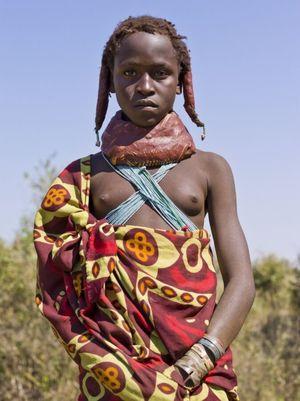 African tribe - Mwila (Angola) - Free..