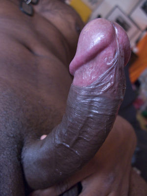 big black cock close up