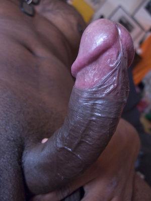 big black cock close up