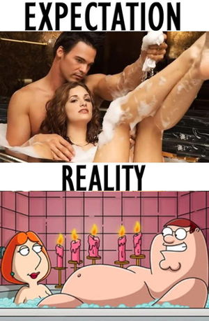 Sexy bubble bath, huh? - 9GAG