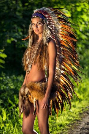 Native American Cosplay Cosplay..