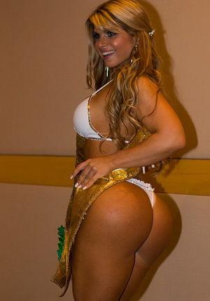 Brazilian Booty-ful Model Carine..