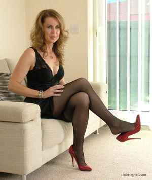 Beautiful legs mature