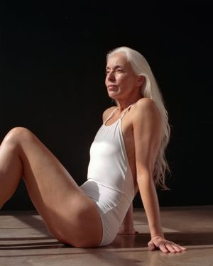 She's 60 Years Old and Modeling in..