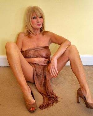 Beautiful mature british model Betty..