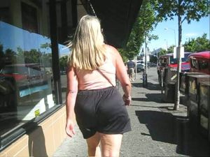 Candid big beautiful asses And more..