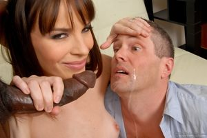 Sexy brunette Dana DeArmond with..