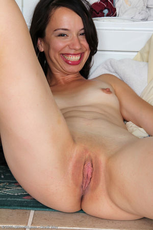 Severine - tiny-titted housewife..