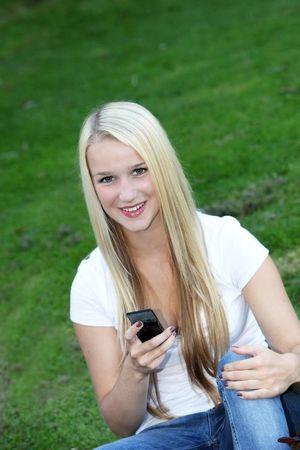 """""""Charming blonde teenaged.."""