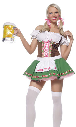 Gretchen Sexy Beer Girl Costume