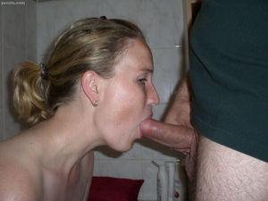 Your girlfriend giving blowjobs - BDSM..