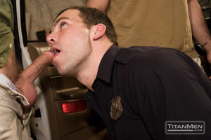 Real cops gay sex prostitution sting -..