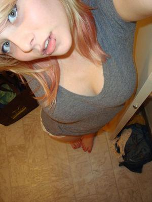 blonde teen puffy nipples