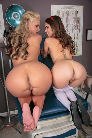 Big ass nurse Phoenix Marie and..