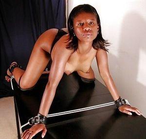 bad day for the black girl Bondage..