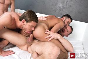 Today's Bareback Sex Orgy Gay Scenes..