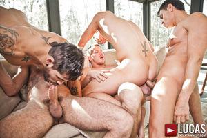 Gay Bareback Sex fest Movie