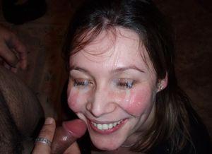 Wifebucket Amateur Facial Cumshot..