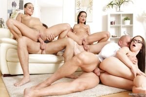 group anal sex