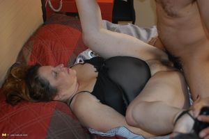 Big mama getting fucked by a..