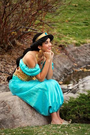 Arabian Princess Character for Parties..