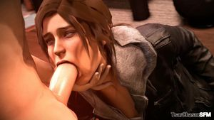 Lara Croft blowjob, Porn optimized for..