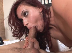 Mature blowjob swallow: Blow job from..