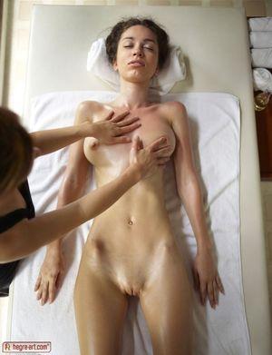 PinkFineArt Engelie Erotic Massage..