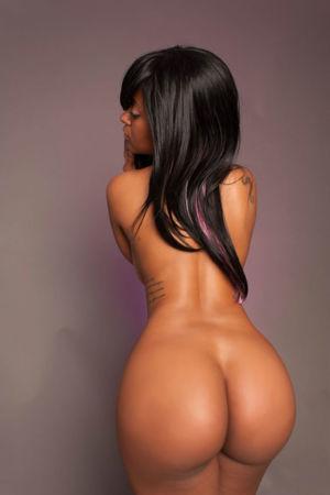 Sexy big round black asses
