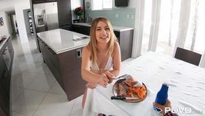 Kristen Scott in Steak And Bj Day at..