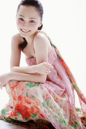 Photos of Chinese actress Yao Di Cute..