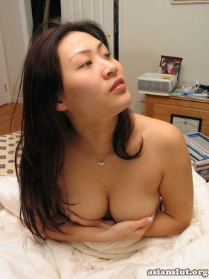 Lusty busty asian girl private nude..