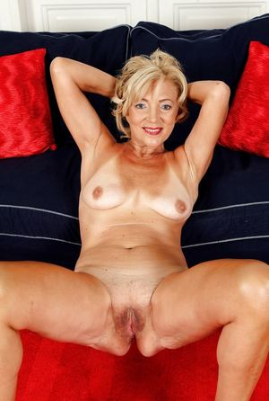 Beautiful blonde granny over 60yo -..