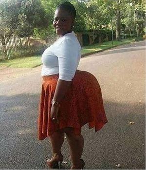 ass big black mature woman
